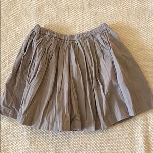 Peek Gray Cord Skirt Size 8